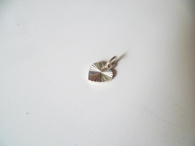 Přívěsek srdíčko srdce stříbro Ag 925 - Obrázek č. 1