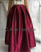 Široka dlha sukňa, XL