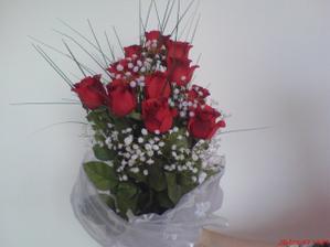 Moje kytice,ještě není hotová