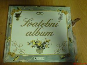 dnes konečně koupené svatební album