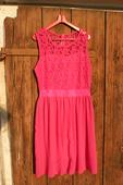 Dámské šaty růžové - FUCHSIA, L