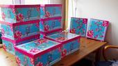 8x krabice box úložná papírová velká , šanon 2x ,