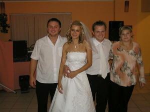švagor Palko s manželkou Miškou