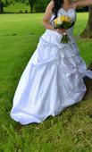 Svadobné šaty  veľ. 38-, 42
