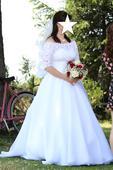 Svadobné šaty 40 - 46, 42