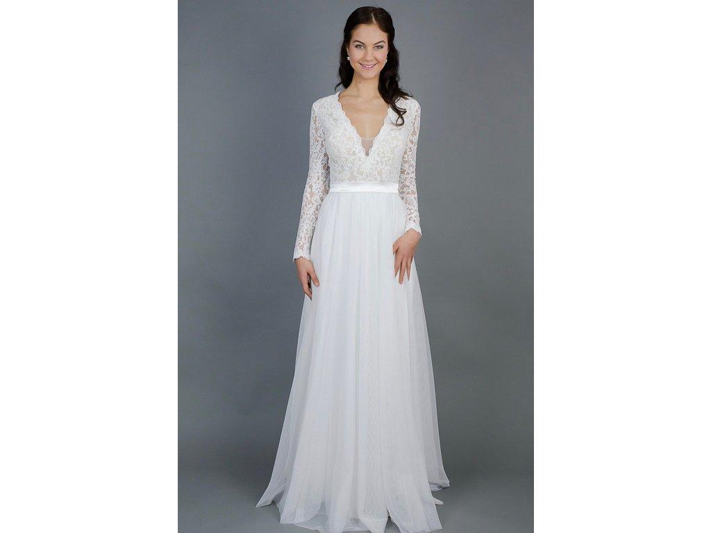 Šití na zakázku - - Svatební šaty be5dacb93f