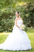 Svadobné šaty 34-38, 34