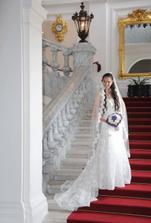... a nevěsta si jej opravdu užívala ;-)