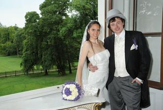 Rozverní novomanželé ;-)
