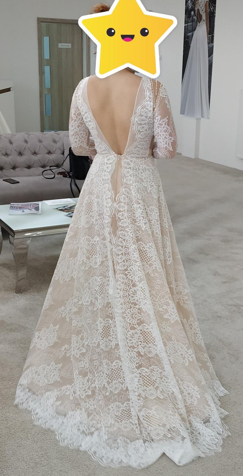 Nové svadobné šaty (nepoužité) - Obrázok č. 1