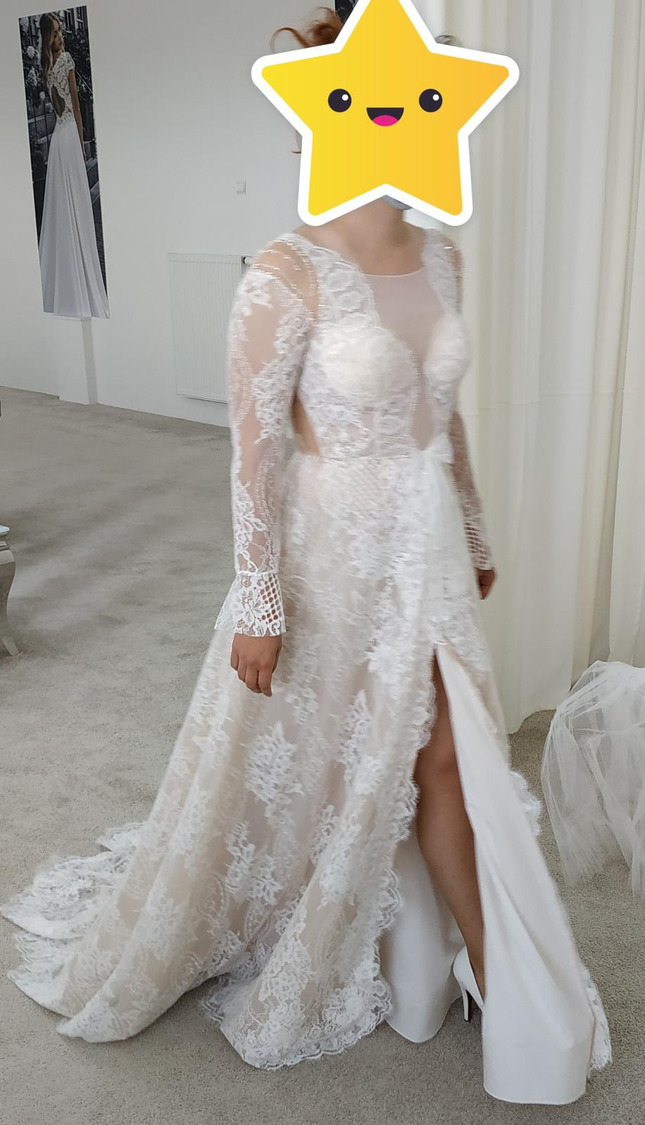 Nové svadobné šaty (nepoužité) - Obrázok č. 2
