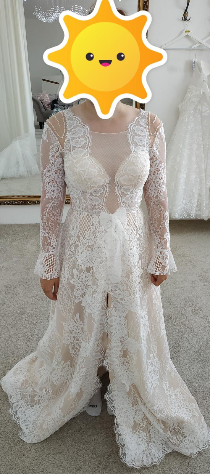 Nové svadobné šaty (nepoužité) - Obrázok č. 3