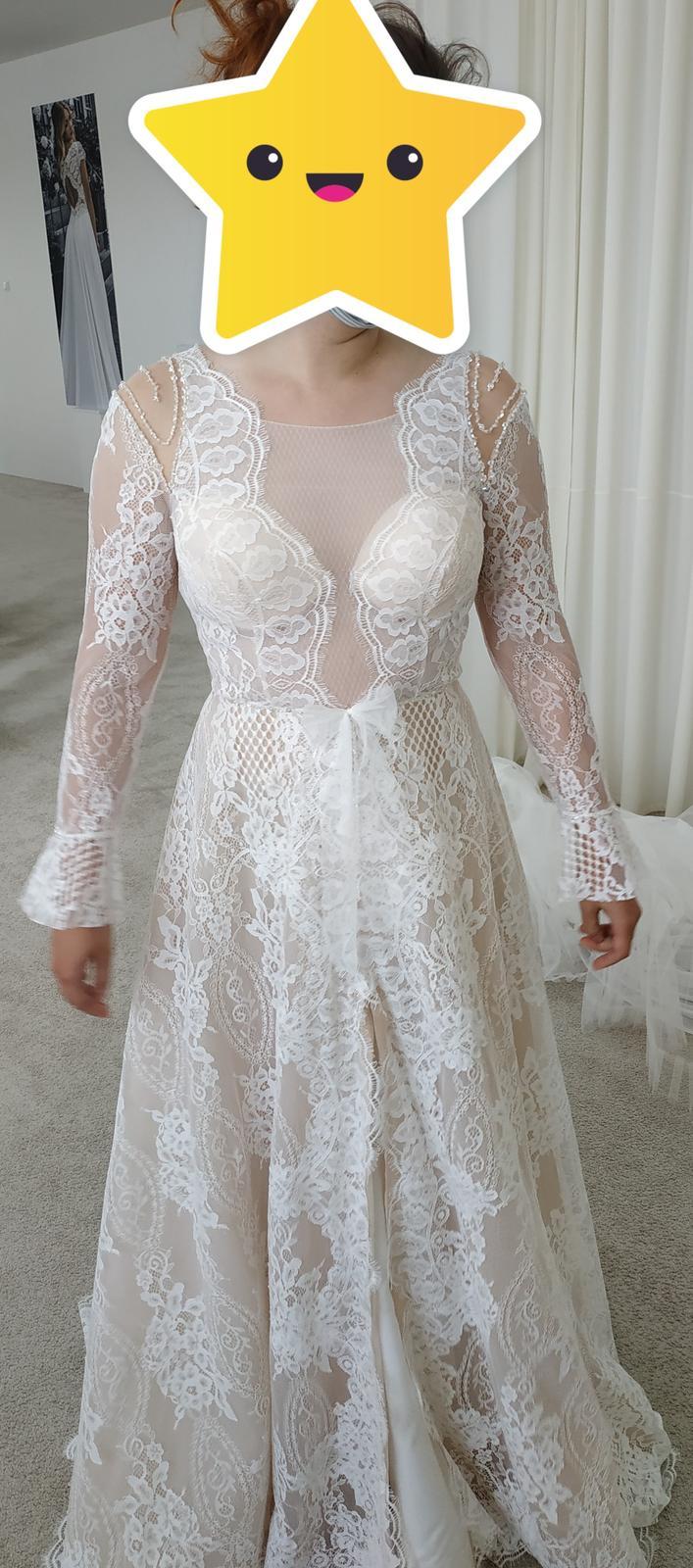 Nové svadobné šaty (nepoužité) - Obrázok č. 4