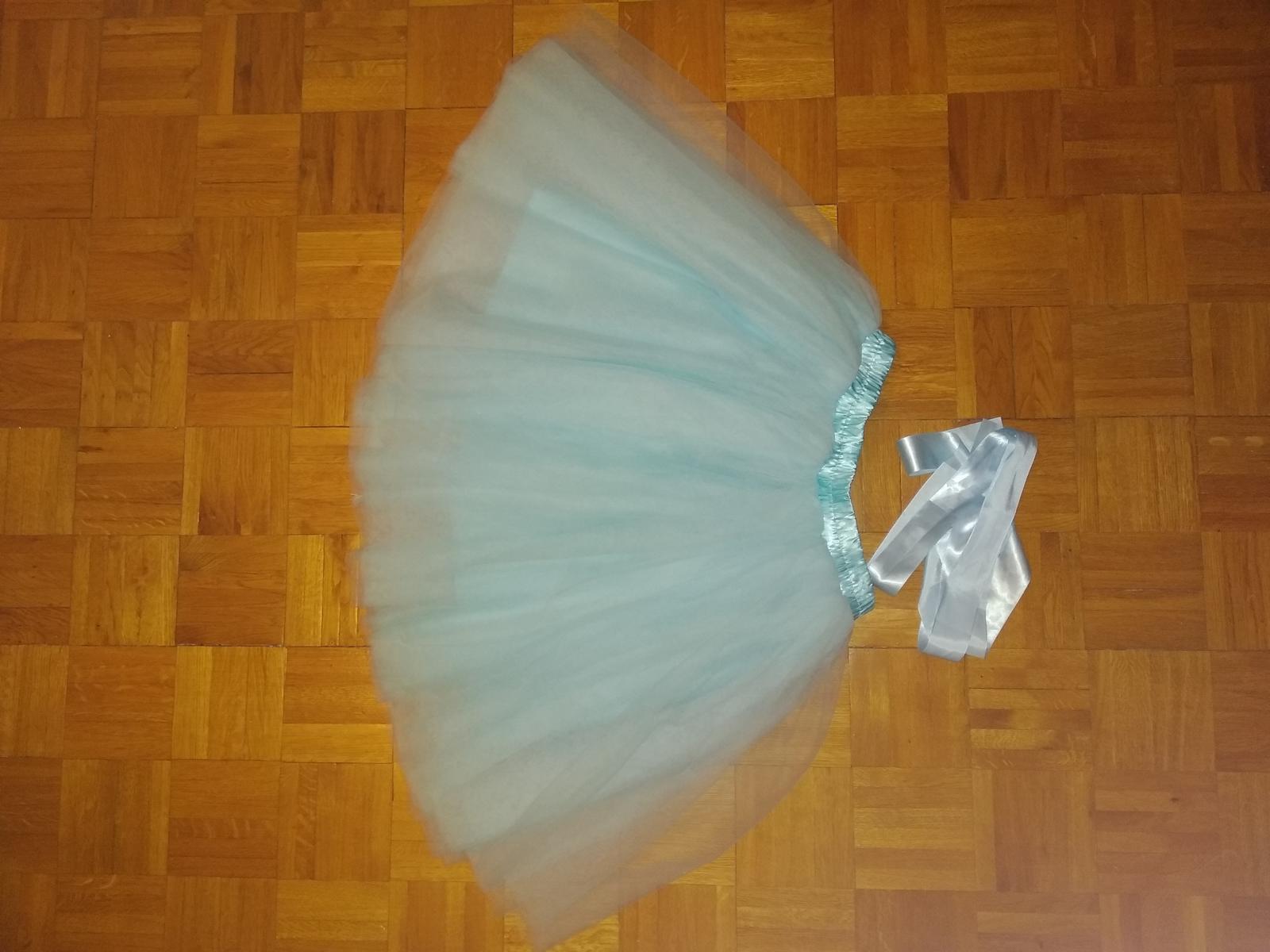 Popůlnoční tylová tutu sukně - Obrázek č. 1
