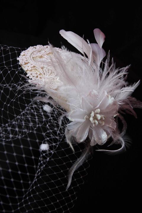 Krasne svadobné doplnky do vlasov - Obrázok č. 1