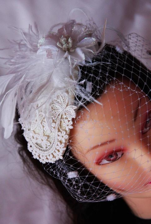 Krasne svadobné doplnky do vlasov - Obrázok č. 2