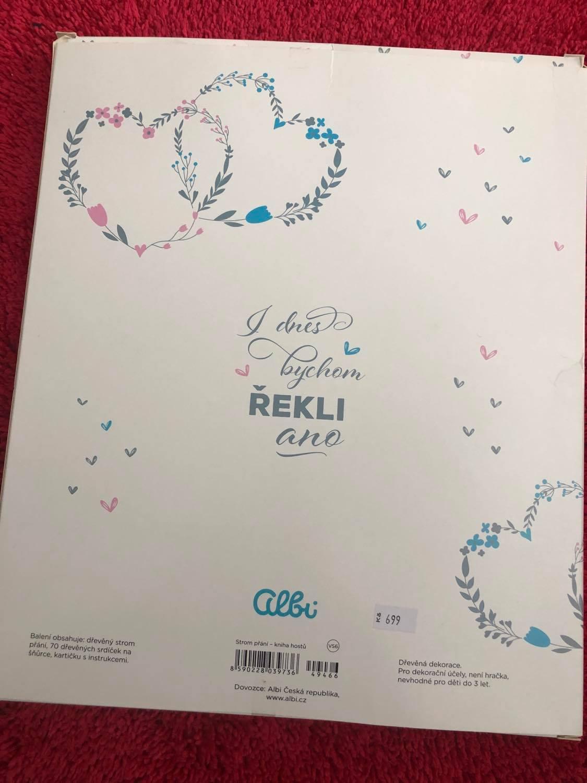 Kniha hostů - Strom života - srdíčka na podpisy - Obrázek č. 3