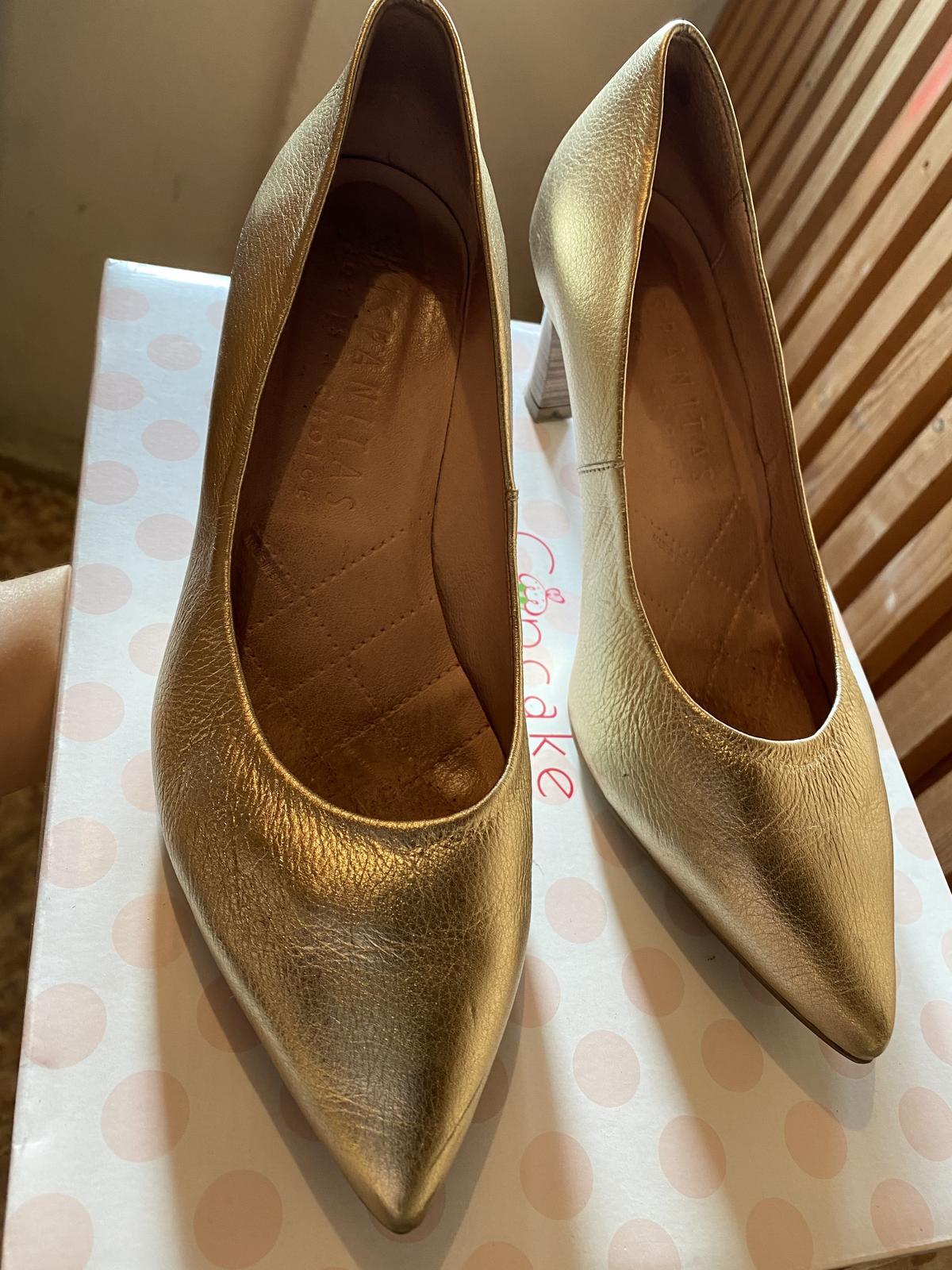 Svadobné topánky HISPANITAS - Obrázok č. 1