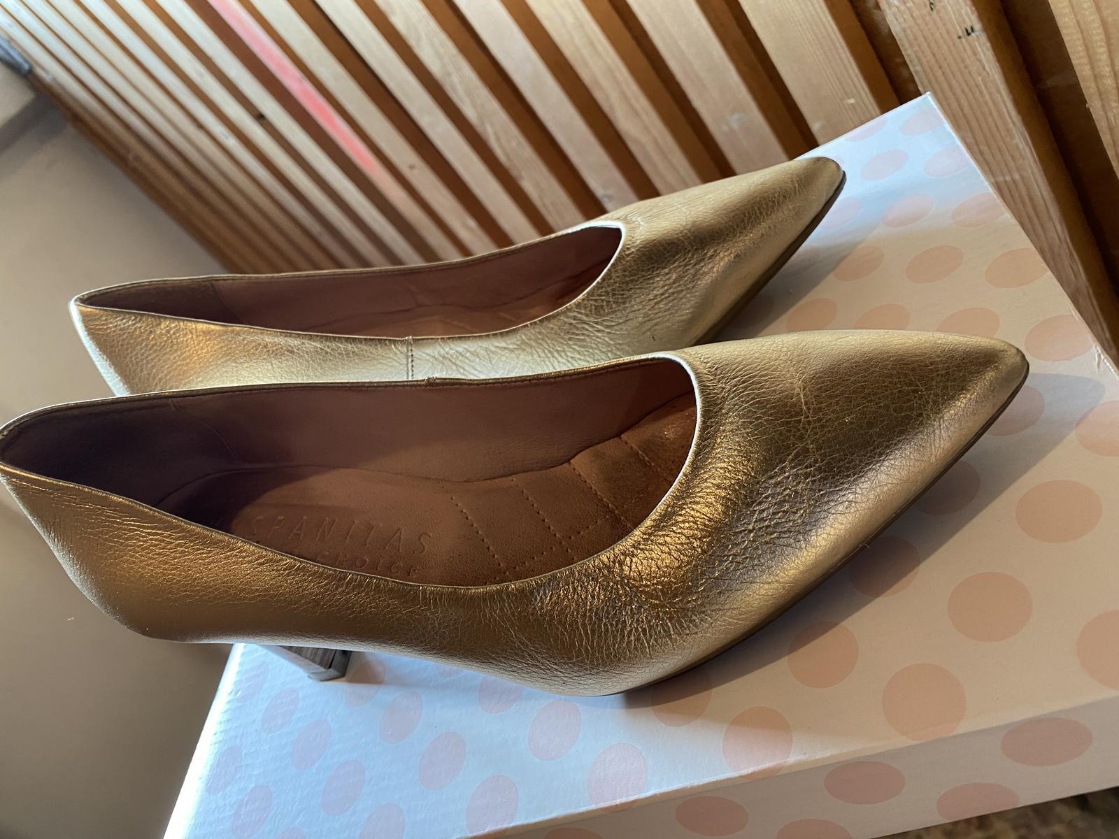 Svadobné topánky HISPANITAS - Obrázok č. 4