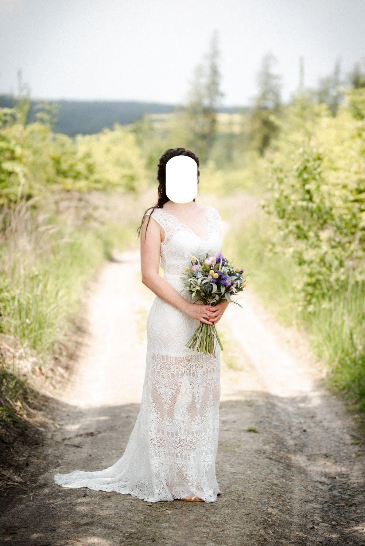 Boho svatební šaty NOVÉ - Obrázek č. 1