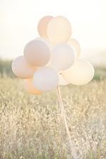 po obřadě budeme pouštět balónky..