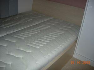 matrace sedí a konečně bude spaní jak na obláčku