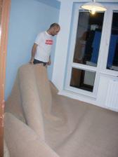 ještě položit koberec...