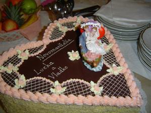 naša svadobná ananásová tortička