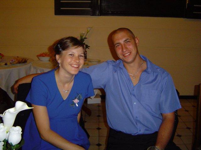 Lucia Bučková{{_AND_}}Vladimír Krivosudský - Marek a Zuzička , ktorý mali 13.05.svadbu a teraz čakajú prírastok
