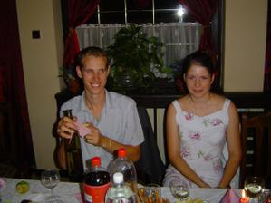s bratčekom Ivankom a s Vladkovou sesternicou Katkou