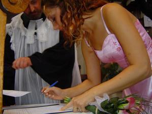 prvý podpis a úvaha nad ním