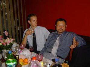 moj ocko s Ivankom,mojim bratcekom
