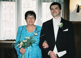 ženich s maminkou
