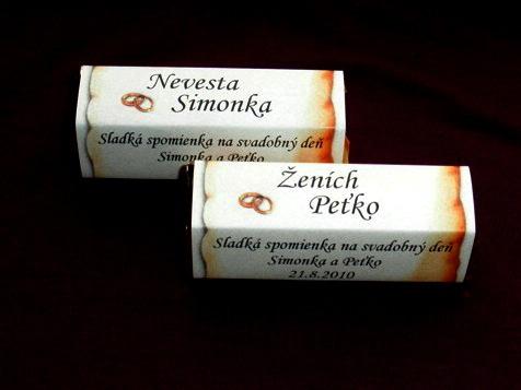 Naše vysnívané predstavy - takéto čokoládky ako darček len s iným motívom :)
