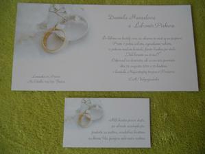 naše svadobné oznámenia :)