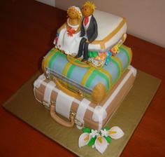 Svadobna torticka, tiez je uz objednana dufam ze nasa bude vyzerat tiez tak premakane