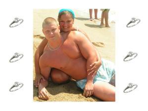 O ruku mě Ondra požádal na dovolené ve Španělsku 17.7.2006