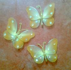 Motýlci-ozdoba na stůl
