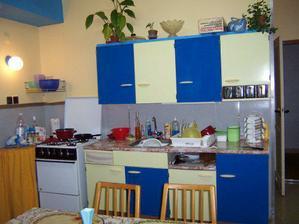 otřesná kuchyňská linka 40 let stará