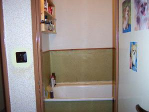 a koupelna na zdi linoleum hrůza
