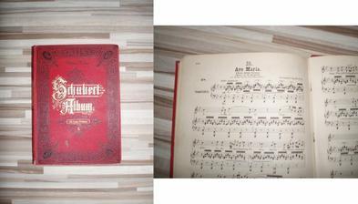 Vysnívaná hudba v kostole. Franz Shubert - Ave Maria. Edícia z roku 1883.