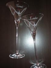Naše svadobné poháre.