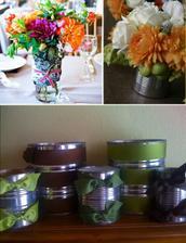 super nápad - svadobná recyklácia