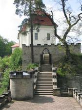 Terasy hradu Valdštejn