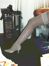 Nové punčošky - ještě tak nové nohy :-)
