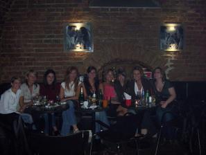 rozlučka se svobodou,byl to skvělej večer,holky děkuju:-)