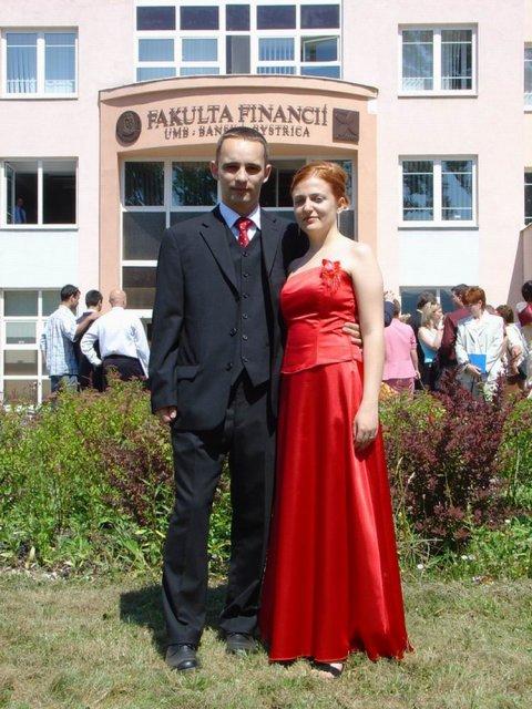 Magduška a Maťulko - tak toto sme my, ale nám to pristane, že? :)