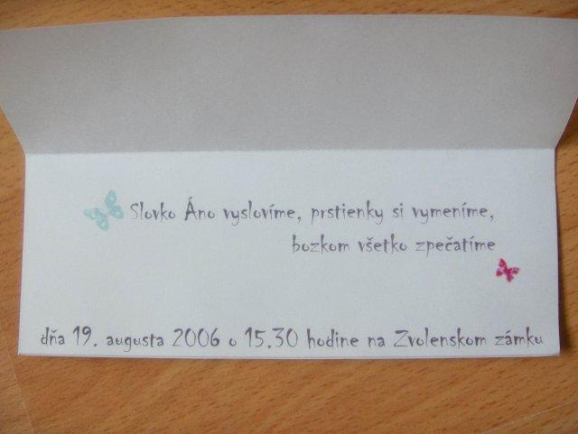 Magduška a Maťulko - oznamko z dnu :) aj vzadu je motív lúky a motýlikov, ale už som nefotila :)