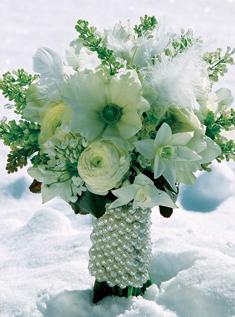 Extravagantne kytice a pierka - Obrázok č. 6