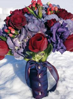 Extravagantne kytice a pierka - Obrázok č. 7